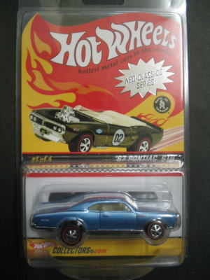 1/64 ホットウィール HOT WHEELS Red Line Club '67 Pontiac GTO レッドラインクラブ ポンティアック ミニカー アメ車