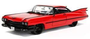 キャデラック クーペ 海外並行輸入正規品 アメ車 ミニカー 1 24 JADATOYS ジャダトイズ Cadillac ストア Deville Red Coupe デビル 1959 キャディラック