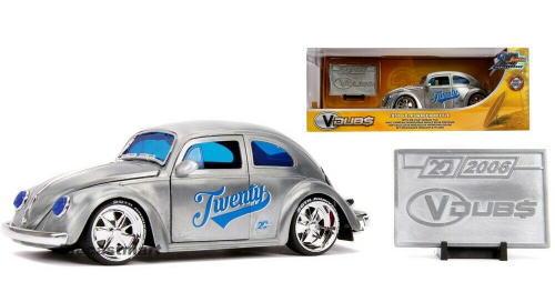 1/24 JADA TOYS ジャダトイズ Jada 20th Anniversary 1959 Volkswagen Beetle フォルクスワーゲン ビートル ミニカー