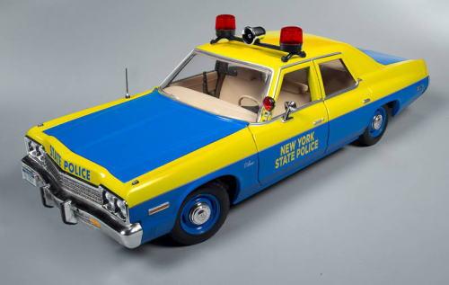 1/18 Auto World 1974 Dodge Monaco New York State Police ダッジ モナコ ニューヨーク ポリス ミニカー アメ車