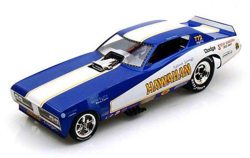 オリジナル 1/18 auto world 1/18 1971 Dodge Car Charger NHRA ミニカー Funny Car HAWAIIAN ダッジ チャージャー ファニー カー ミニカー アメ車, ウスイグン:f161ecfb --- canoncity.azurewebsites.net