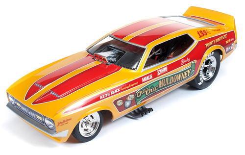1/18 auto world Cha-Cha Muldowney 1972 Ford Mustang NHRA Funny Car ファニーカー フォード マスタング ミニカー アメ車