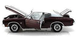 1/18 Auto World 1970 Chevy Chevelle SS シェビー シェベル ミニカー アメ車