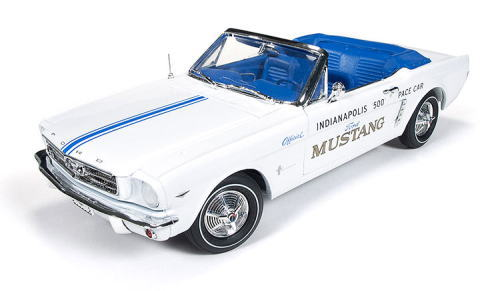1/18 Auto World 1964 1/2 Ford Mustang Official Indianapolis 500 Pace Car フォード マスタング ペースカー ミニカー アメ車