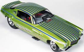 1/18 Auto World Fighting Irish 1971 Chevy Camaro Funny Car シェビー カマロ ファニーカー ミニカー アメ車