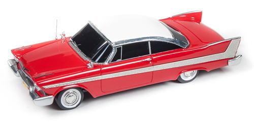 1/43 auto world 1958 Plymouth Fury Christine プリマス フューリー クリスティーン ミニカー アメ車