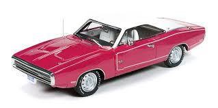 1/43 auto world 1970 Dodge Charger R/T ダッジ チャージャー ミニカー アメ車