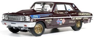 1/18 auto world 1964 Ford Thunderbolt Hurst Phil Bonner フォード サンダーボルト ミニカー アメ車