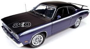 1/18 auto world American Muscle 1971 Plymouth Duster 340 プリマス ダスター ミニカー アメ車