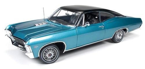 1/18 auto world American Muscle 1967 Chevy Impala SS 427 シェビー インパラ ミニカー アメ車