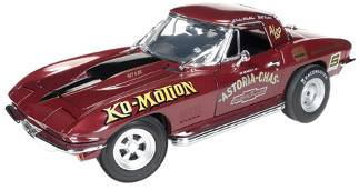 1/18 auto world American Muscle 1967 Baldwin Motion Corvette ボールドウィン モーション コルベット ミニカー アメ車