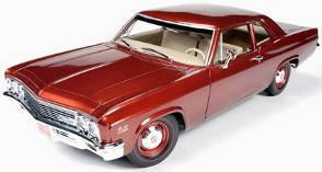 1/18 auto world American Muscle 1966 Chevy Biscayne シェビー ビスケイン ミニカー アメ車