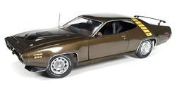 1/18 auto world American Muscle 1971 Plymouth Road Runner プリマス ロードランナー ミニカー アメ車