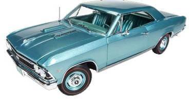 1/18 auto world American Muscle 1966 Chevy Chevelle SS 396 シェビー シェベル ミニカー アメ車