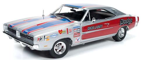 1/18 auto world 1969 Dodge Charger R/T Dick Landy ダッジ チャージャー ミニカー アメ車