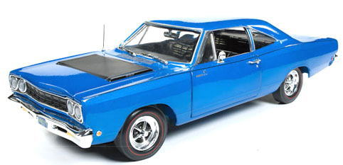 1/18 auto world 1968 Plymouth Road Runner プリマス ロードランナー ミニカー アメ車