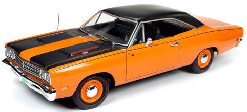 1/18 auto world 1969 Plymouth Road Runner プリマス ロードランナー ミニカー アメ車