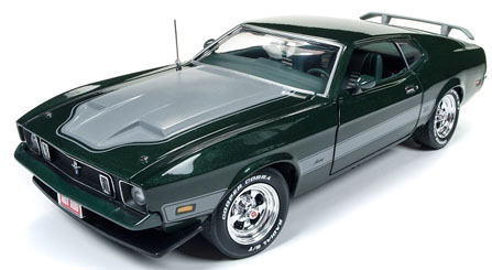 1/18 auto world 1973 Ford Mustang Mach 1 フォード マスタング マッハ1 ミニカー アメ車