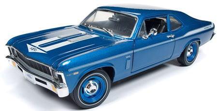 1/18 auto world 1969 Yenko Chevy Nova シボレー ノバ ミニカー アメ車