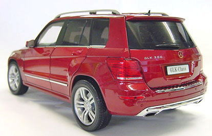 1/18 Welly GT Autos Mercedes Benz GLK Red メルセデスベンツ ミニカー