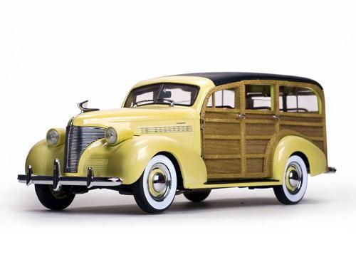 1/18 サンスター Sun Star 1939 Chevrolet Woody Station Wagon Italian Cream シボレー ウッディー ステーション ワゴン ミニカー アメ車