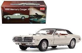 1/18 サンスター Sun Star 1968 Mercury Cougar XR7G Fawn マーキュリー クーガー ミニカー アメ車