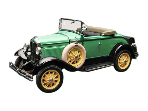 1/18 サンスター Sun Star 1931 Ford ModelA Roadster Reseda Green モデルA ロードスター ミニカー アメ車