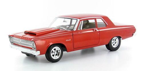 1/18 ハイウェイ61 HIGHWAY61 1965 Plymouth Beivedere プリマス ベルベディア セドナオレンジ ミニカー アメ車