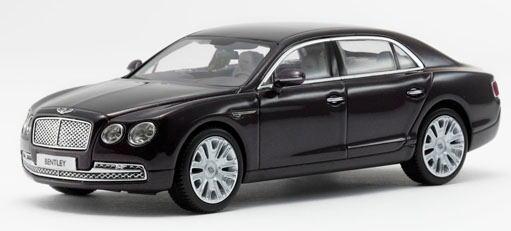 1/43 京商 KYOSHO Bentley Flying Spur W12 Damson ベントレー コンチネンタル フライングスパー ミニカー