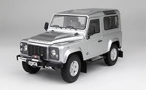 1/18 京商 KYOSHO Land Rover Defender 90 Indus Silver ランドローバー ディフェンダー ミニカー