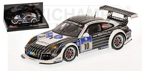 1/43 ミニチャンプス MINICHAMPS Porsche 911 GT3 R Manthey Racing Kohler/Gindorf/Wlazik/Scharmach 24h ADAC Nurburgring 2011 ポルシェ ニュルブルクリング ミニカー