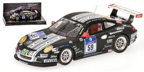 1/43 ミニチャンプス MINICHAMPS Porsche 911 GT3 R Dorr Motorsport Gebhardt Grossmann Kluck Mapelli 24h Nurburgring 2011ポルシェ ニュルブルクリング ミニカー