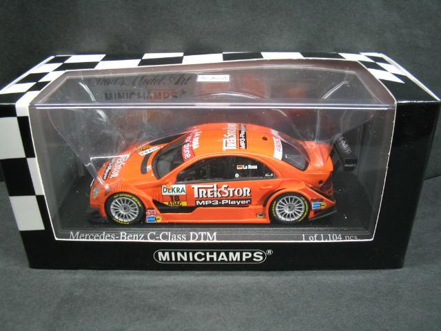 メルセデスベンツ Cクラス DTM 2006 1 43 ミニカー ミニチャンプス MINICHAMPS Mercedes C 買取 Mucke Benz Rosa ベンツ Team Class 登場大人気アイテム D.La デラロサ メルセデス
