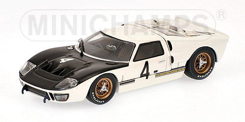 1/43 ミニチャンプス MINICHAMPS Ford GT40 MkII 1000km Spa 1966 Whitmore / Gardner フォード スパ ミニカーアメ車