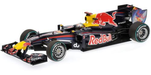 1/18 ミニチャンプス MINICHAMPS Red Bull Racing Renault RB6 S.Vettel Abu Dhabi GP 2010 Word Champion レッドブル ルノー ベッテル ワールドチャンピオン ミニカー