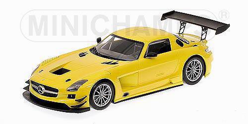 1/18 ミニチャンプス MINICHAMPS Mercedes Benz SLS AMG GT3 Street 2011 Yellow メルセデス ベンツ ストリート ミニカー