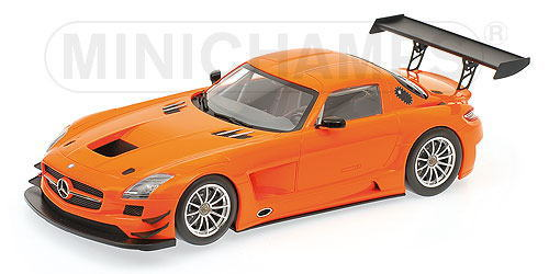 1/18 ミニチャンプス MINICHAMPS Mercedes Benz SLS AMG GT3 Street 2011 Orange メルセデス ベンツ ストリート ミニカー