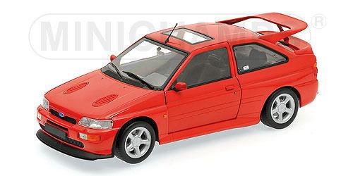 1/18 ミニチャンプス MINICHAMPS Ford Escort Cosworth 1992 Red フォード エスコート コスワース ミニカー アメ車