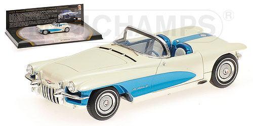 1/43 ミニチャンプス MINICHAMPS 1955 General Motors LaSalle II Roadster Concept Bortz Auto Collection Edition 1 ゼネラルモータース ミニカー