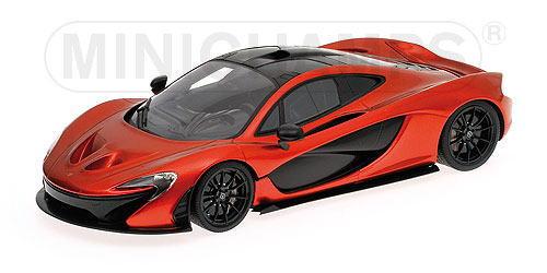 1/18 ミニチャンプス MINICHAMPS McLaren P1 2013 Volcanic Orange First Class Collection マクラーレン ミニカー
