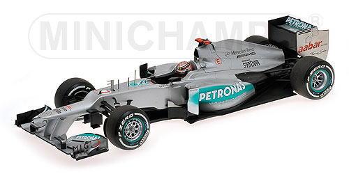 1/18 ミニチャンプス MINICHAMPS Mercedes AMG Petronas F1 Team M.Schumacher 2012 メルセデス ペトロナス F1チーム シューマッハ ミニカー