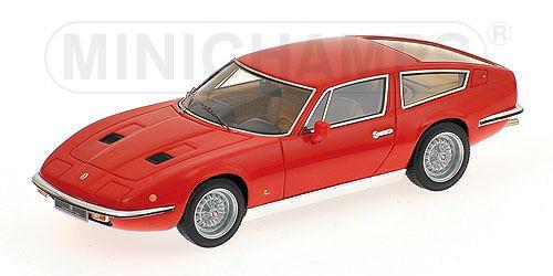 1/43 ミニチャンプス MINICHAMPS Maserati Indy 1970 Red マセラッティ インディ 1/43 ミニカー