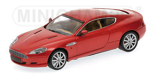 1/43 ミニチャンプス MINICHAMPS Aston Martin DB9 2009 Red Metallic アストン マーチン1/43 ミニカー