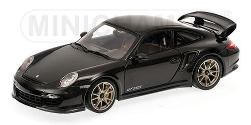 1/18 ミニチャンプス MINICHAMPS Porsche 911 GT2 RS 2011 Black with silver wheels ポルシェ ミニカー