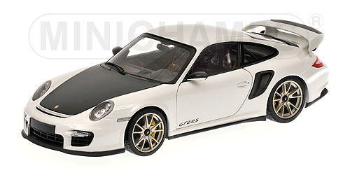 1/18 ミニチャンプス MINICHAMPS Porsche 911 GT2 RS 2011 White ポルシェ ミニカー