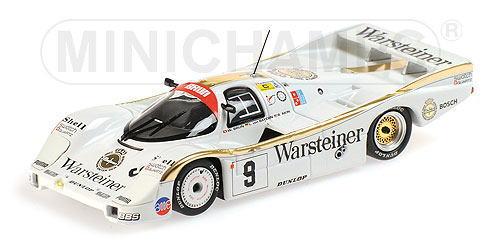 ポルシェ 956L ルマン 1 43 ミニカー ミニチャンプス MINICHAMPS Porsche Bayern 24h 1984 Le 即出荷 Brun 24時間 新色追加して再販 Mans Akin