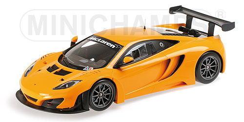 1/18 ミニチャンプス MINICHAMPS McLaren 12C GT3 2013 Orange マクラーレン ストリート ABS製 ミニカー