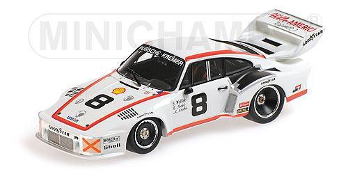 ポルシェ 無料 935 デイトナ 待望 1 43 ミニカー ミニチャンプス MINICHAMPS KREMER 1977 Krebs Porsche Wollek Joes 24H Daytona