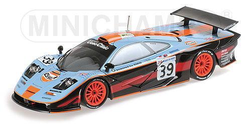 1/18 ミニチャンプス MINICHAMPS McLaren F1 GTR Gulf Team Davidoff Bellm / Gilbert-Scott / Sekiya 24h Le Mans 1997 マクラーレン ルマン ガルフ ミニカー