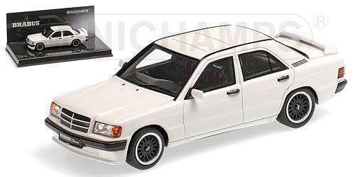 1/43 ミニチャンプス MINICHAMPS Brabus 190E 3.6S 1989 White ブラバス メルセデスベンツ ミニカー
